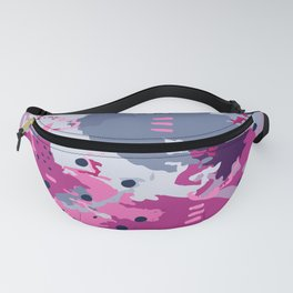 Jessee's Abstract Experiment #002 Fanny Pack