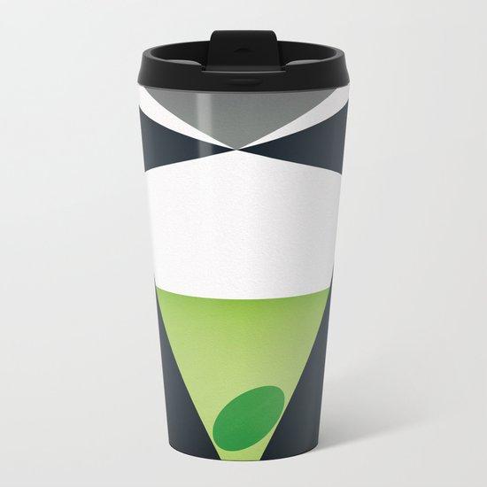 Shaken, not stirred Metal Travel Mug