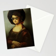 Mona Lisa Boogie Stationery Cards