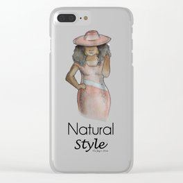 Natural Style Clear iPhone Case