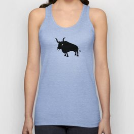 Angry Animals: Bull Unisex Tank Top