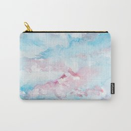 Pink and Blue Clouds . Sky Carry-All Pouch
