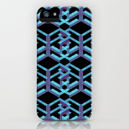 Impossible Interlace iPhone Case