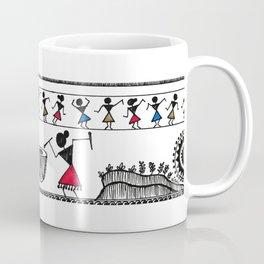 Warli Dance Coffee Mug