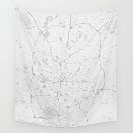 Atlanta Map Wall Tapestry