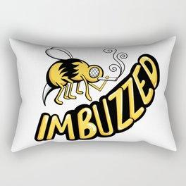 I'm Buzzed Rectangular Pillow
