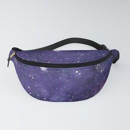 Watercolor galaxy - purple Fanny Pack