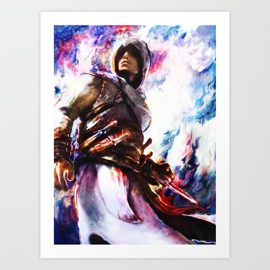 Assassin's Creed.  Altair Art Print