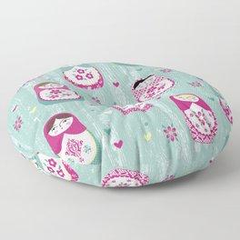 Matryoshka Dolls Floor Pillow