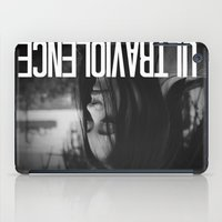 ultraviolence iPad Cases featuring ULTRAVIOLENCE GIRL. by Beauty Killer Art