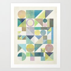 Nordic Combination 21 Art Print