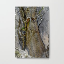 Waterfall mimetolit Metal Print