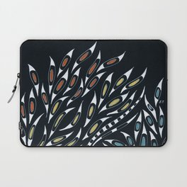 Doodle Abstract Funky Pattern Ink Laptop Sleeve