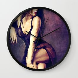 Seductive Lingerie Wall Clock