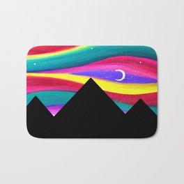 Moonlight Magic - Pyramids Silhouette Bath Mat