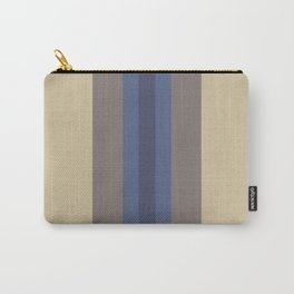Stripes: Soybean, Princess Blue, and Eclipse Carry-All Pouch