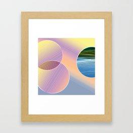 Stranger Framed Art Print