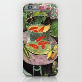 The Goldfish by Henri Matisse iPhone Case