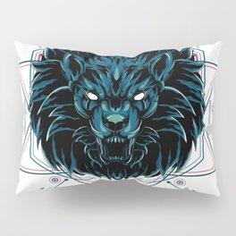The Wild Lion sacred geometry Pillow Sham