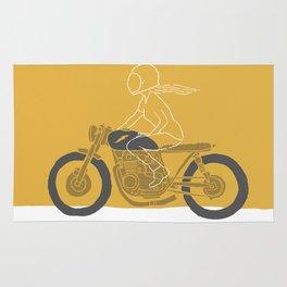 riding girl Rug