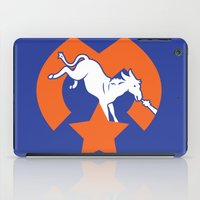 denver iPad Cases featuring Denver Donkeys   by The Monark