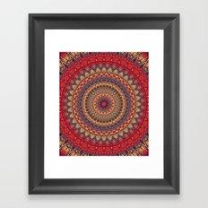 Mandala 469 Framed Art Print