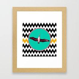 SWEET DREAMS, MAMA BIRD Framed Art Print