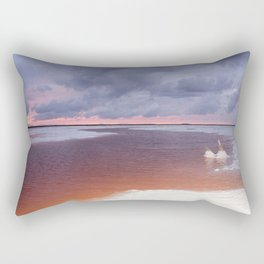 Salt Lakes Rectangular Pillow
