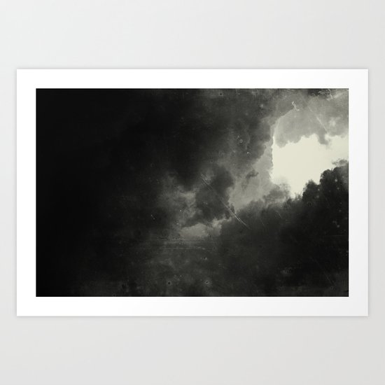 Hole In The Sky III Art Print