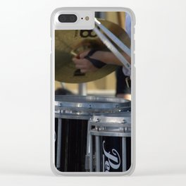 Drumline Clear iPhone Case