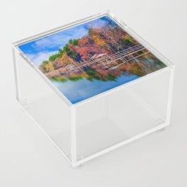 Autumn on the Lake Acrylic Box