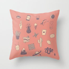 This Is Not A Love Story Throw Pillow