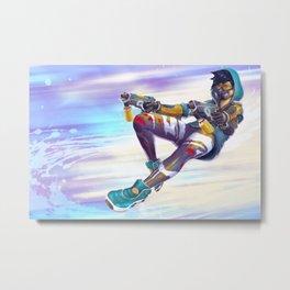 Graffiti Shooter Metal Print