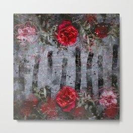 Be My Valentine - Rose - Floral Metal Print