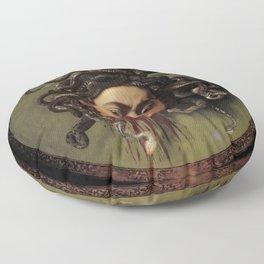 """Michelangelo Merisi da Caravaggio """"Medusa"""" Floor Pillow"""