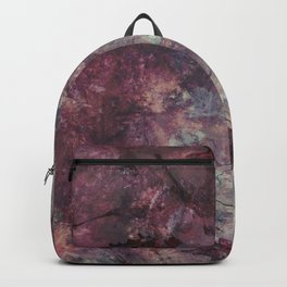 watercolors with splashes Backpack