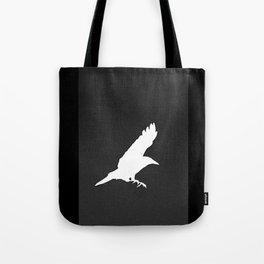 White Crow Tote Bag