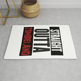 Straight Outta Zombieland Rug