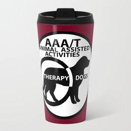 Animal Assisted Activities  - THERAPY DOG logo 15 Travel Mug