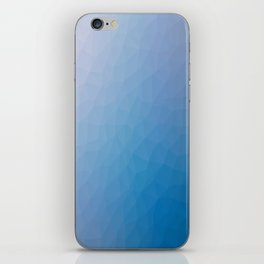 Blue flakes. Copos azules. Flocons bleus. Blaue flocken. Голубые хлопья. iPhone Skin