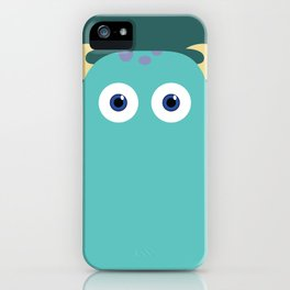 PIXAR CHARACTER POSTER - Sulley - Monsters, Inc. iPhone Case