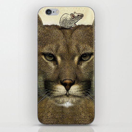 tom and jerry iPhone & iPod Skin