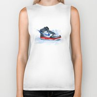 nike Biker Tanks featuring Nike dunk by istraille