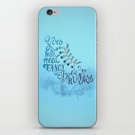 Sneakers iPhone Skin