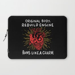 Open Heart Surgery Original Body Rebuilt Engine Runs Like A Charm Gift Laptop Sleeve