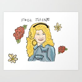 Dolly Art Print