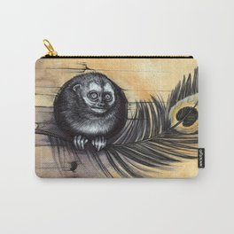 Owl Monkey Carry-All Pouch