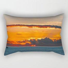 Glaring light Rectangular Pillow