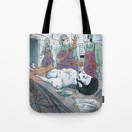 Rigor mortis Tote Bag