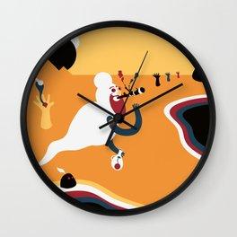 Fumador inconsciente Wall Clock
